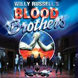 Willy Russell Shoes Upon The Table (from Blood Brothers) Sheet Music and PDF music score - SKU 109618