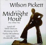 Wilson Pickett In The Midnight Hour Sheet Music and PDF music score - SKU 14879
