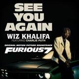 Wiz Khalifa See You Again (feat. Charlie Puth) Sheet Music and PDF music score - SKU 121041