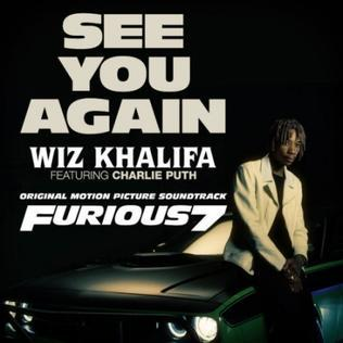 Wiz Khalifa, See You Again (feat. Charlie Puth), Piano, Vocal & Guitar (Right-Hand Melody)