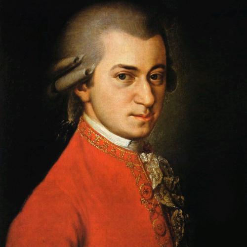 Wolfgang Amadeus Mozart, Piano Concerto No.21 in C Major (Elvira Madigan), 2nd Movement Excerpt, Piano (Big Notes)