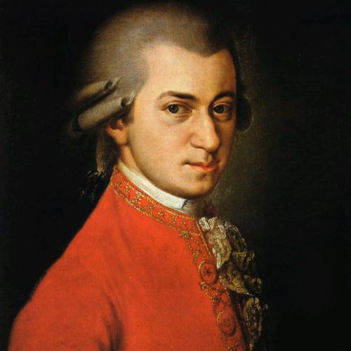 Wolfgang Amadeus Mozart, Slow Movement Theme (from Clarinet Concerto K622), Melody Line & Chords