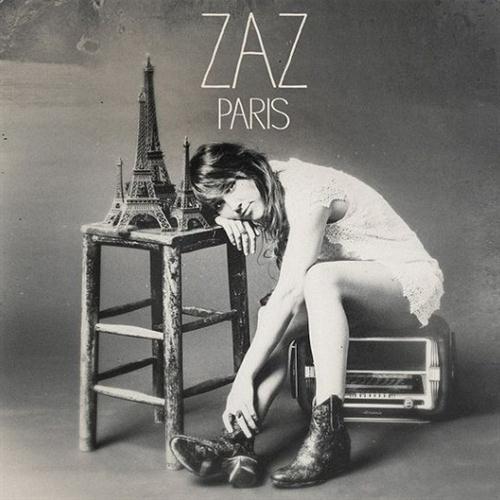 Zaz, Dans Mon Paris (Swing Manouche Version), Piano, Vocal & Guitar (Right-Hand Melody)
