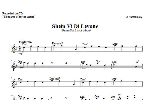 Download Zinovy Goro Shein Vi Di Levone sheet music and printable PDF score & Religious music notes